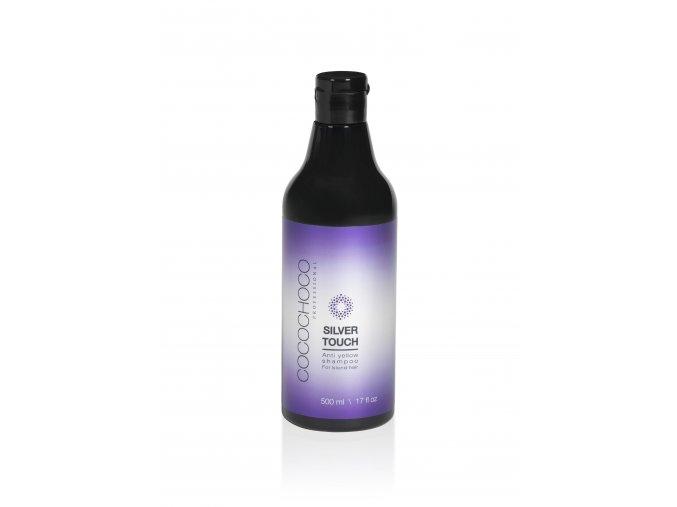 Anti-yellow bezsulfátový šampon COCOCHOCO SILVER TOUCH 500 ml