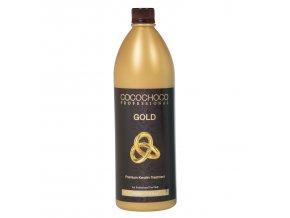Brazilský keratin COCOCHOCO GOLD 1000 ml / 1 l + Čistící šampon 400 ml