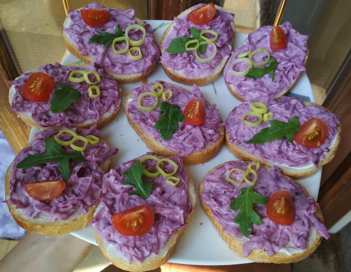 Hanácké chlebíčky s křenem