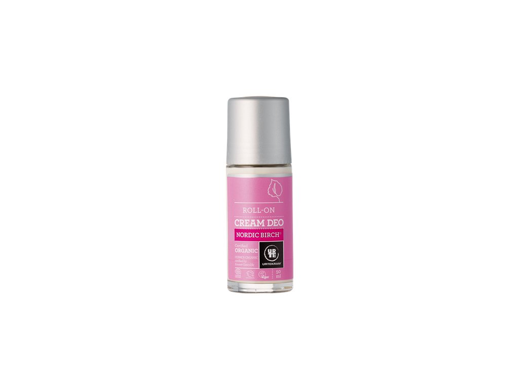 Urtekram deodorant roll-on Krémový  BIO severská bříza 50 ml
