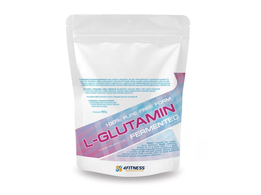 Glutamin 400 g 4FITNESS