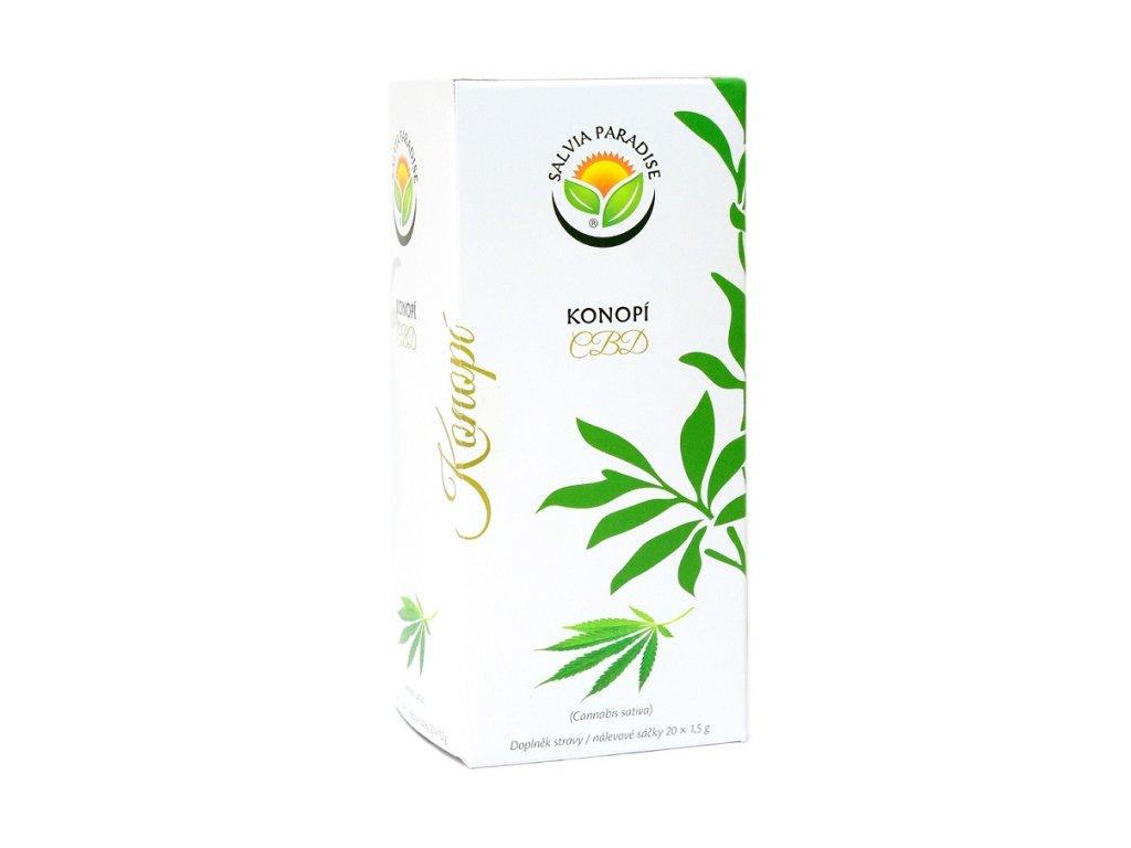 Konopí CBD - Cannabis sativa n. s. 20 x 1.5 g