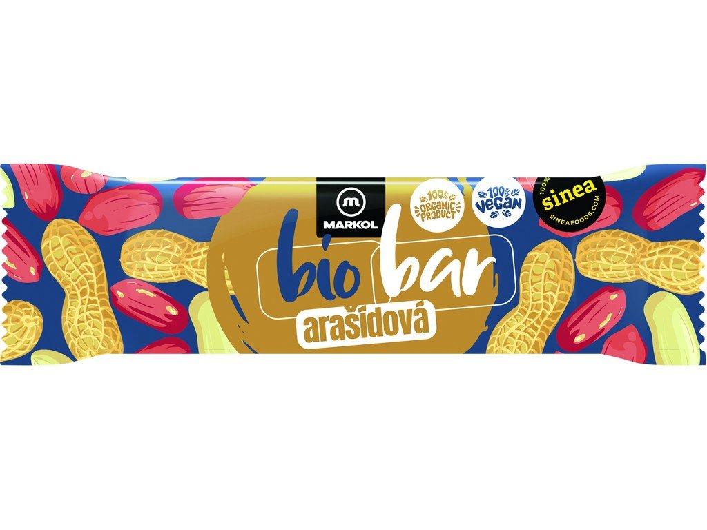 Bio Tyčinka arašídová 40g