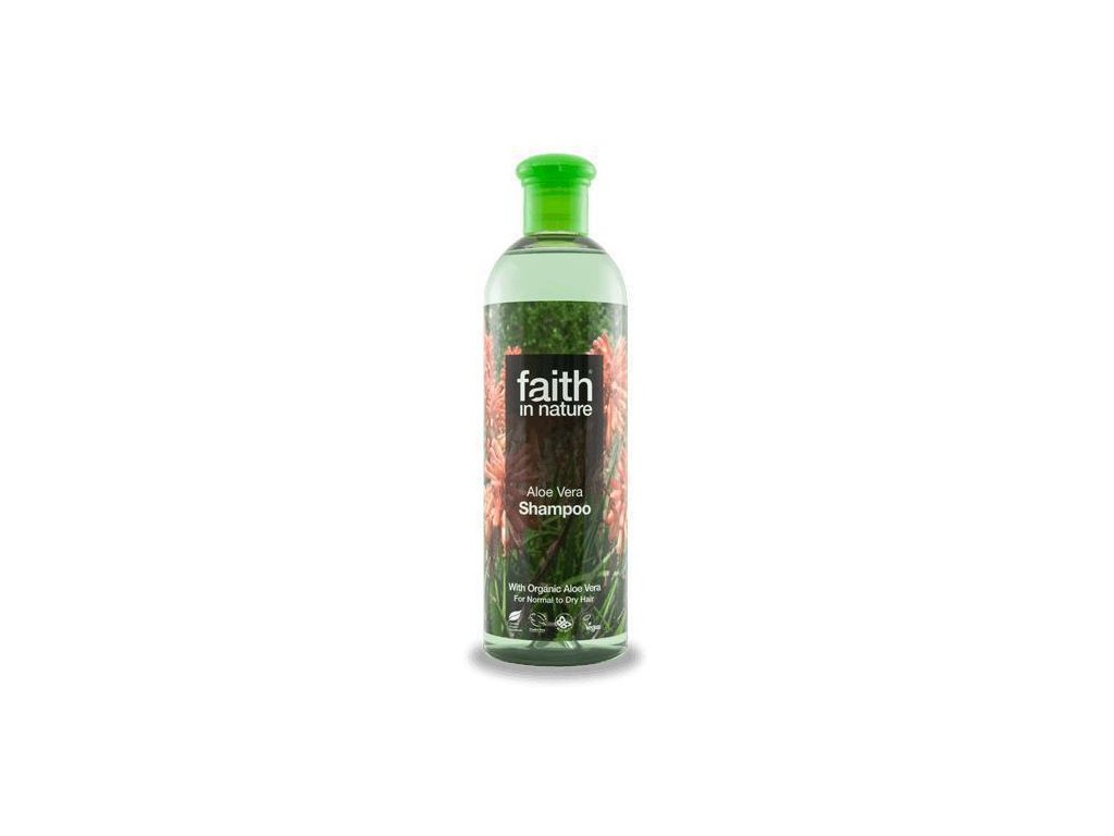 Faith in Nature BIO Šampon s Aloe Vera 400 ml