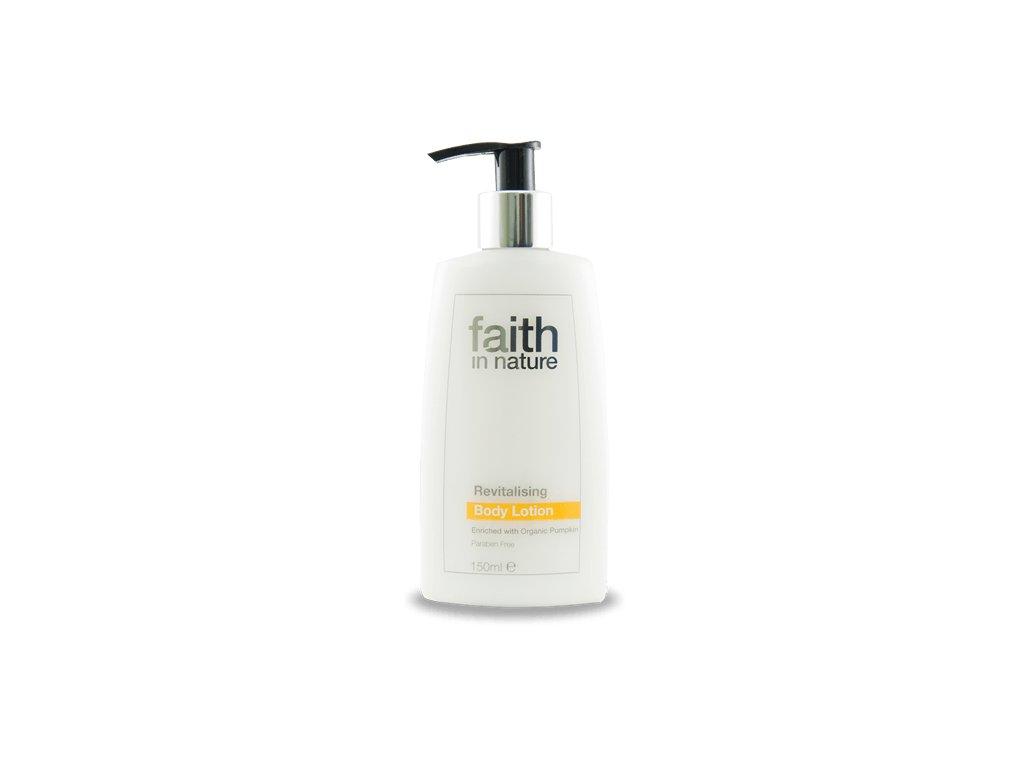 Faith in Nature BIO Tělové revitalizační mléko HA 150 ml