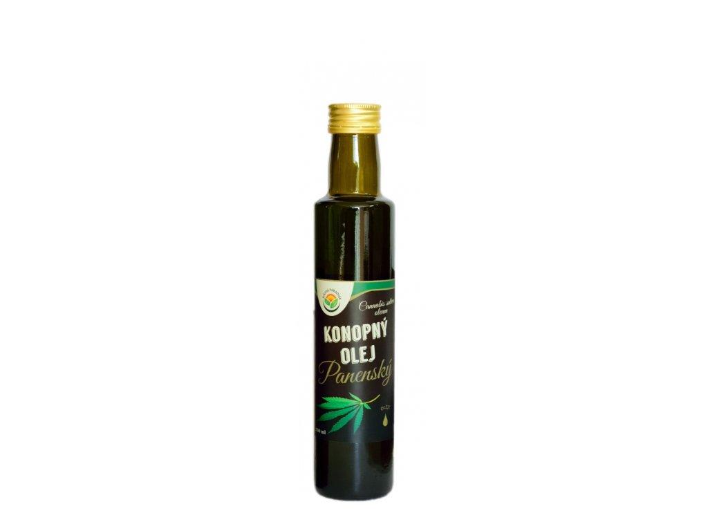 Konopný olej panenský