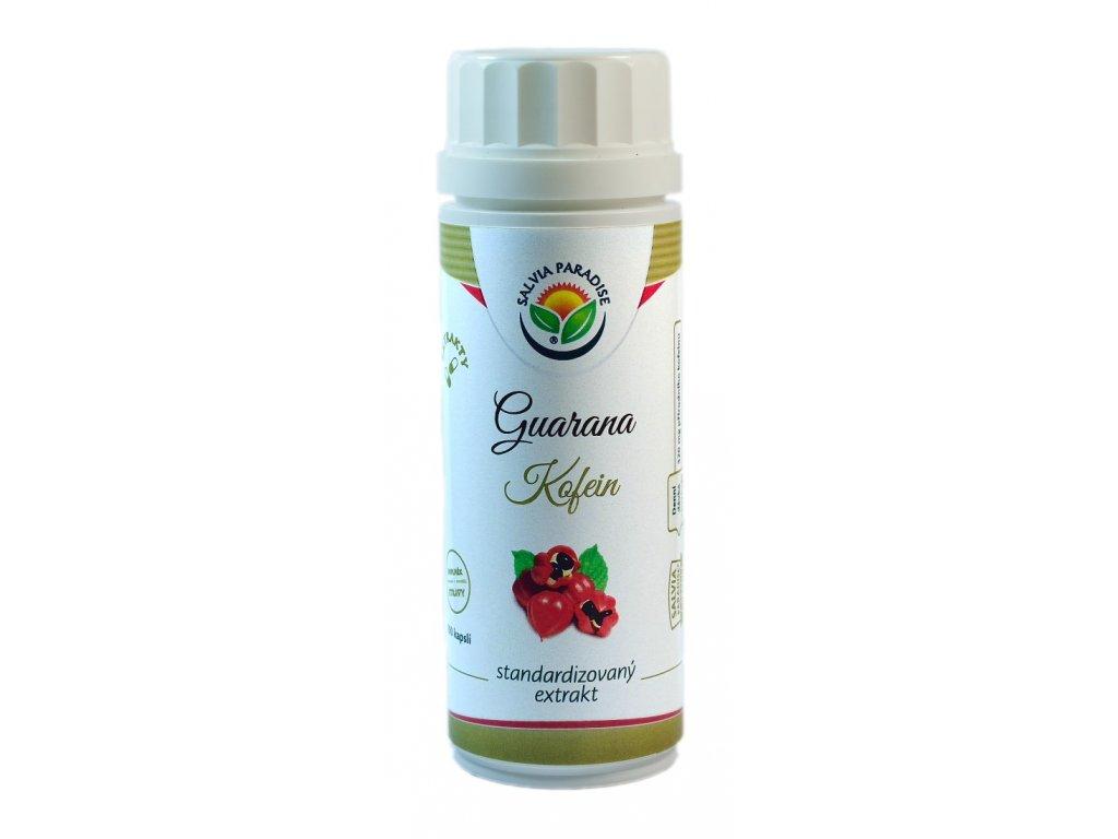 Guarana - kofein standardizovaný extrakt kapsle 100 ks