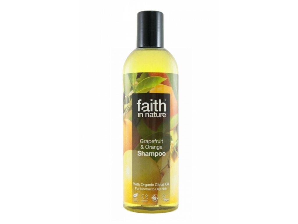 Faith in Nature přírodní šampon BIO Grapefruit a Pomeranč 250 ml