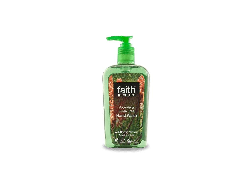 Faith in Nature BIO Tekuté mýdlo Aloe Vera a Tea Tree 300 ml