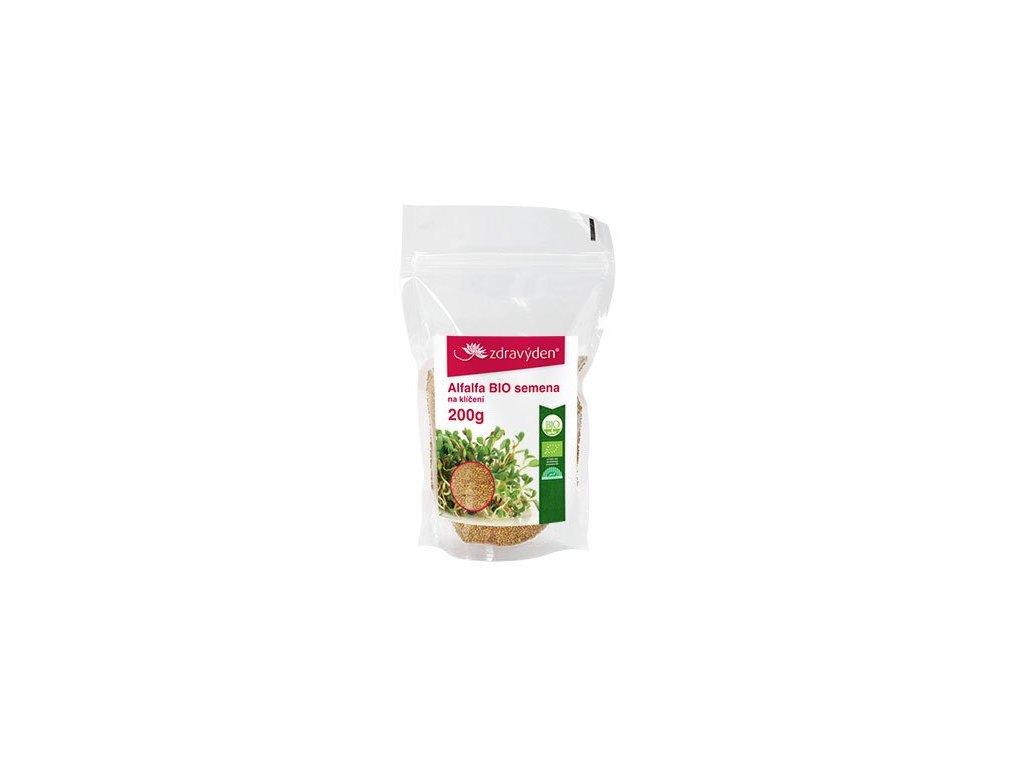 Alfalfa BIO – semena na klíčení 200g
