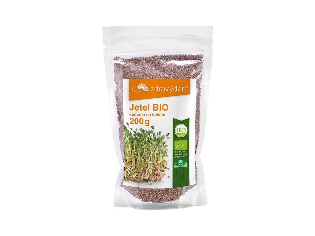 Jetel BIO - semena na klíčení 200g