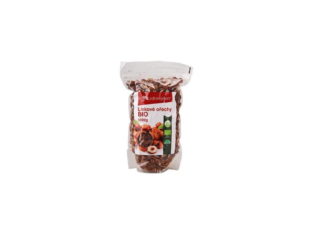Lískové ořechy BIO 1000g