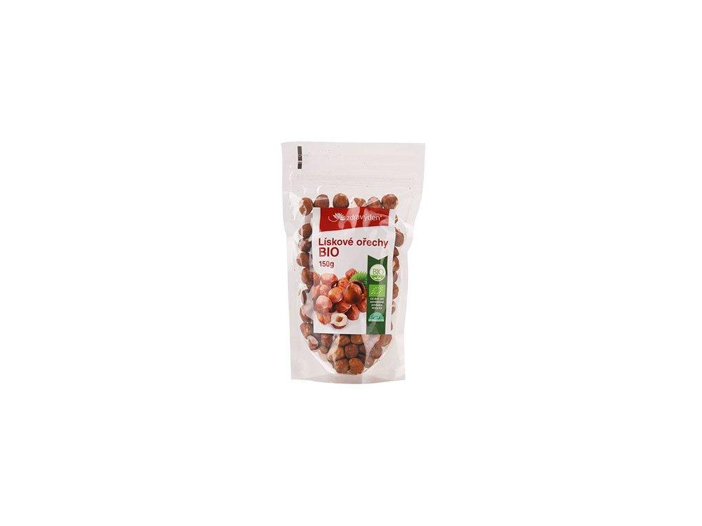 Lískové ořechy BIO 150g