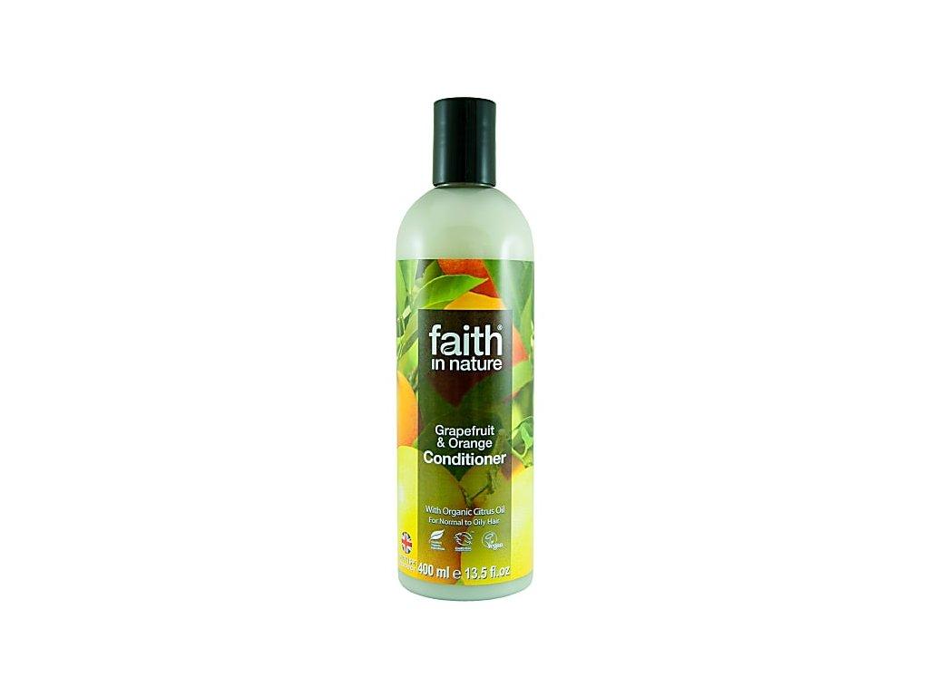 Faith in Nature přírodní kondicionér BIO Grapefruit a Pomeranč 400 ml