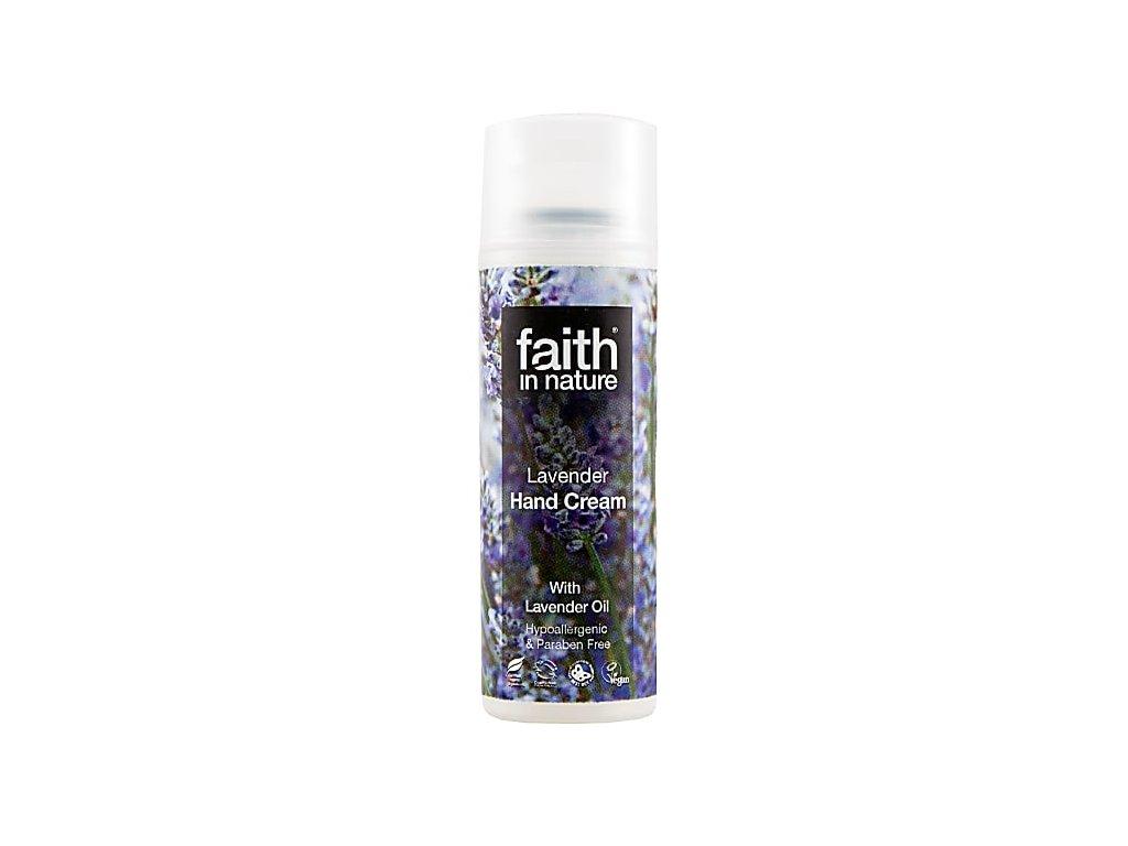 Faith in Nature přírodní levandulový krém na ruce HA 50 ml