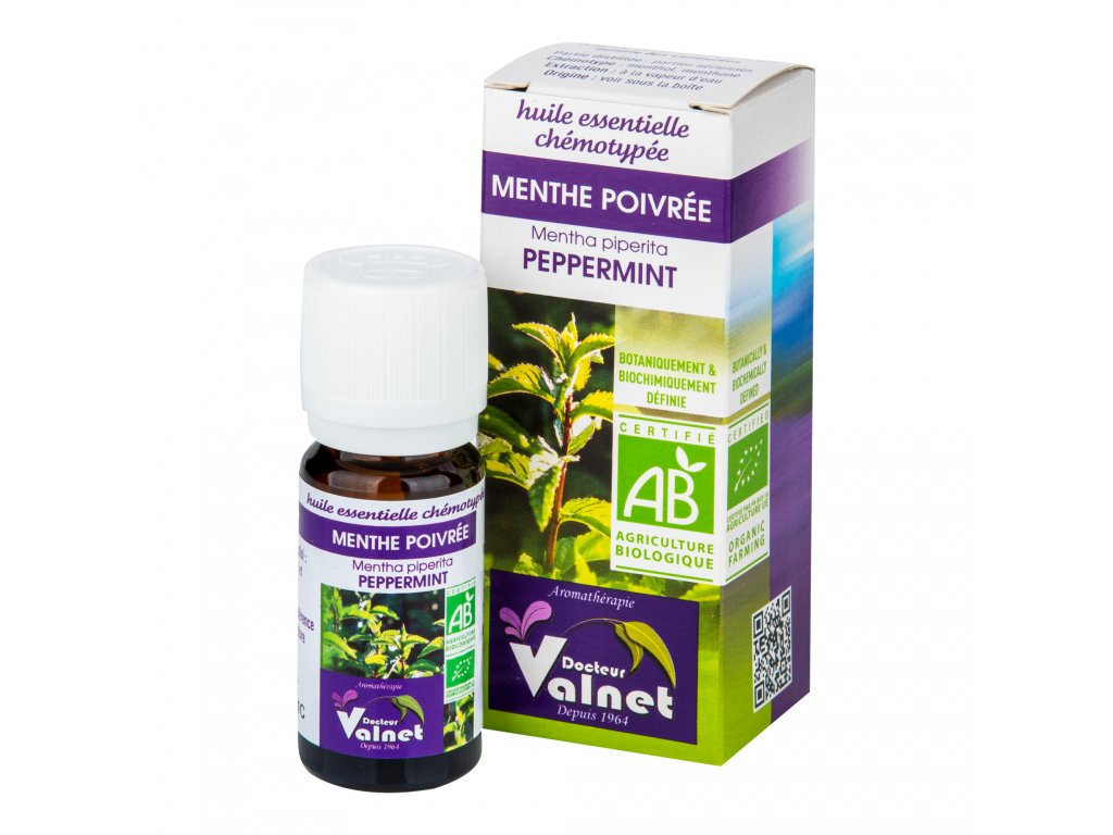 Éterický olej máta peprná 10 ml BIO DOCTEUR VALNET