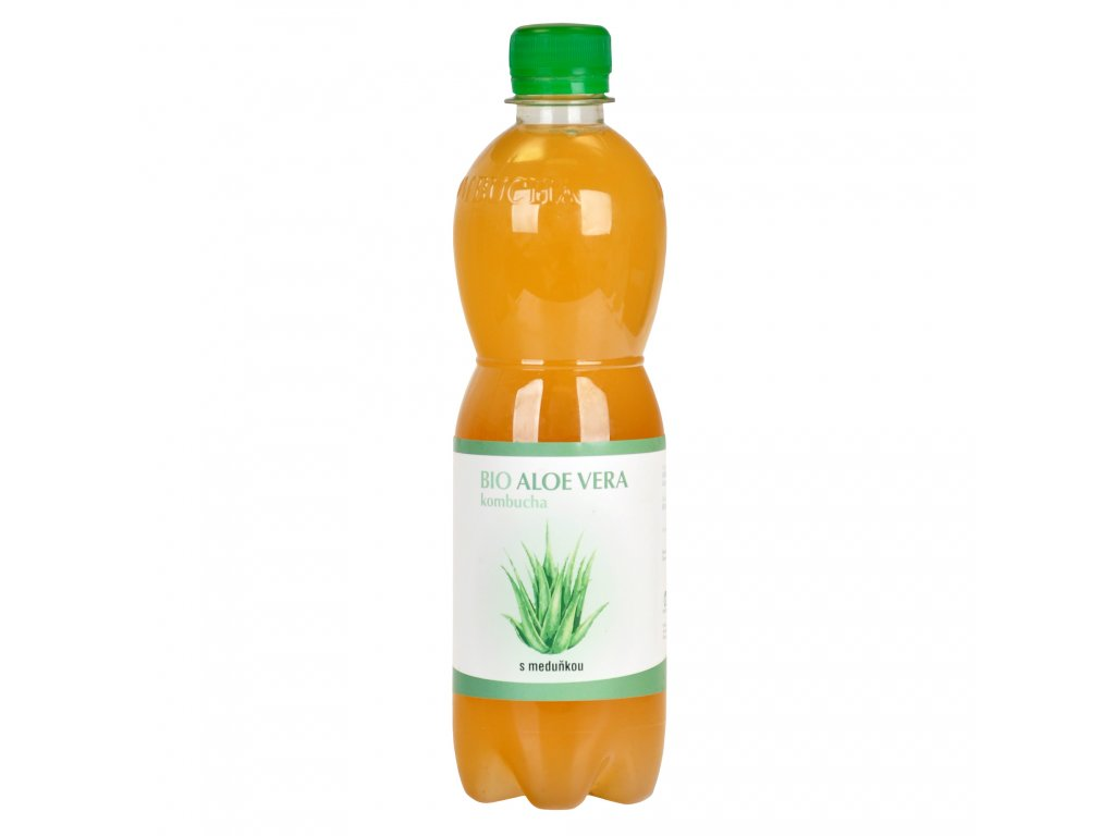 Kombucha Aloe Vera s meduňkou 500 ml BIO STEVIKOM