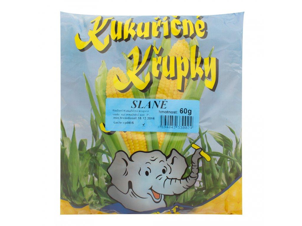 Křupky kukuřičné solené bezlepkové 60 g DARVIT