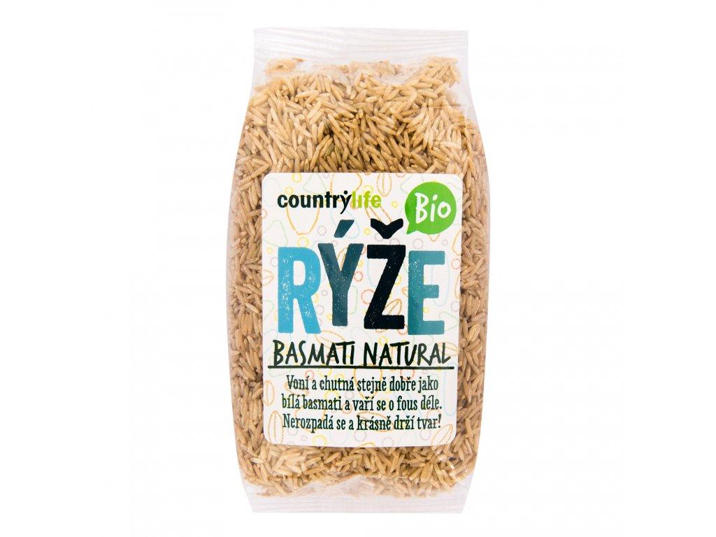 Rýže basmati natural 500g BIO COUNTRYLIFE