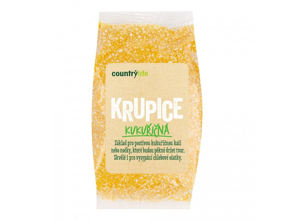 Krupice kukuřičná 400g COUNTRYLIFE