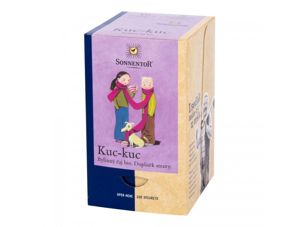 Čaj Kuc-kuc bylinná směs 27g BIO SONNENTOR