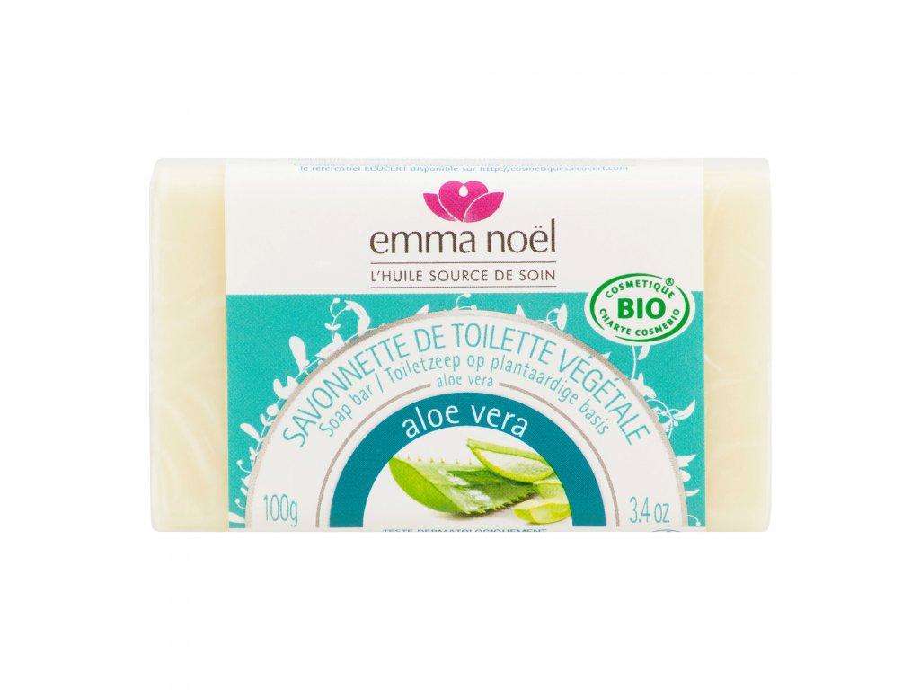 Mýdlo rostlinné aloe vera 100 g BIO EMMA NOËL