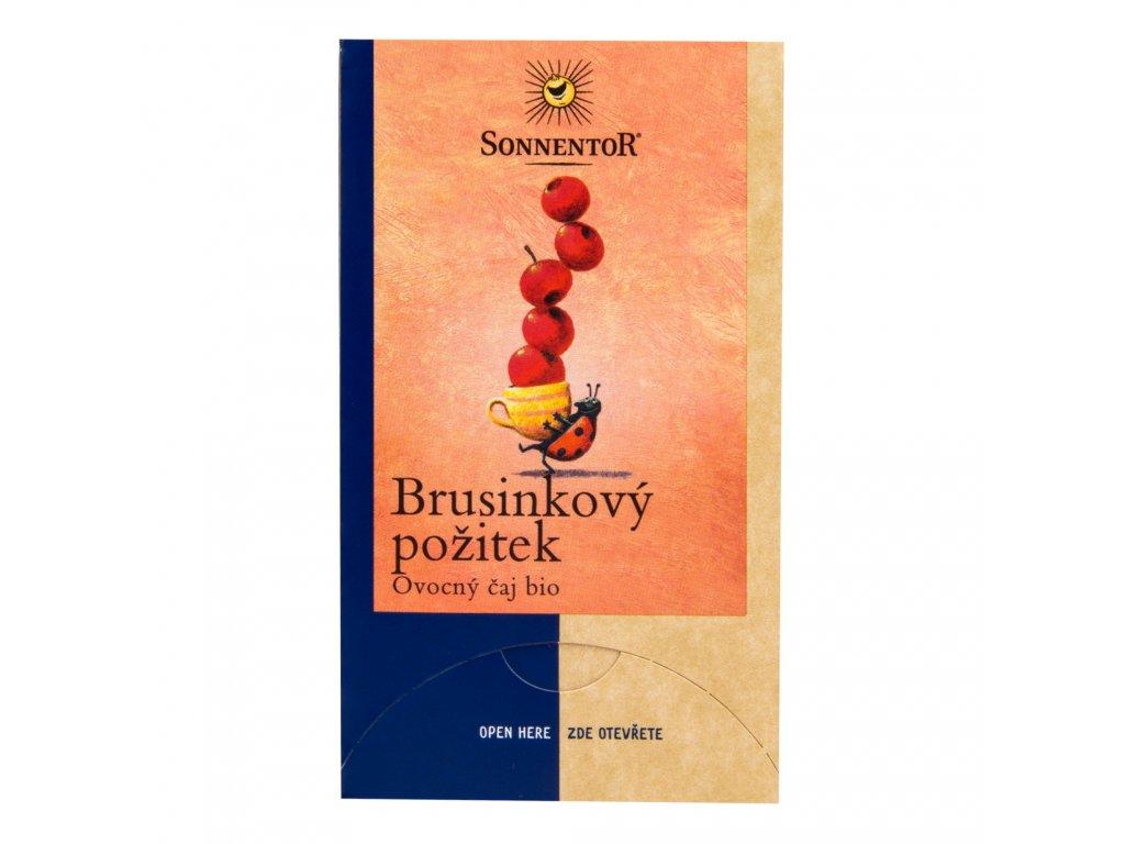 Čaj Brusinkový požitek 50,4g BIO SONNENTOR