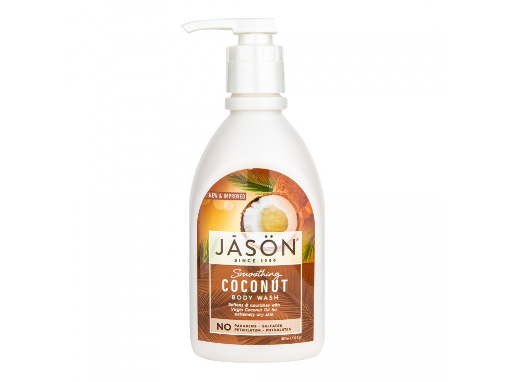 Gel sprchový 887 ml s kokosovým olejem JASON
