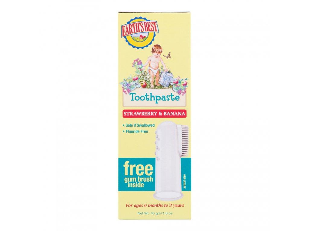E.B. Zubní pasta pro děti od 6 měsíců se zubním kartáčkem 45 g JASON