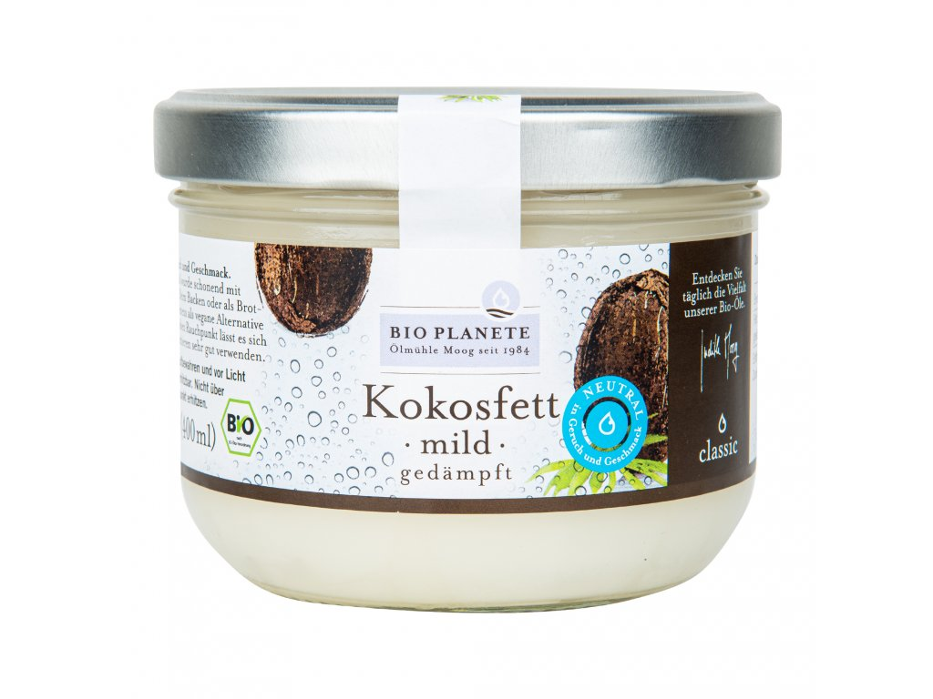 Olej kokosový dezodorizovaný 400ml BIO BIO PLANETE