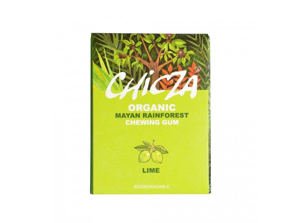 Žvýkačka s příchutí lime 30 g BIO CHICZA