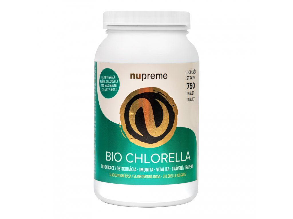 Chlorella 750 tablet 150 g BIO NUPREME