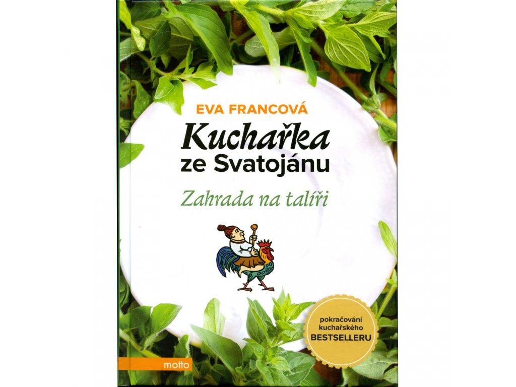 Kniha Kuchařka ze Svatojánu - Zahrada na talíři