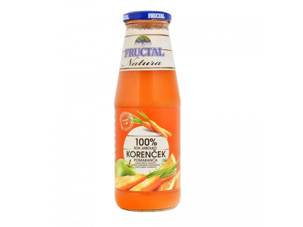 Šťáva ovocno-zeleninová 700ml FRUCTAL