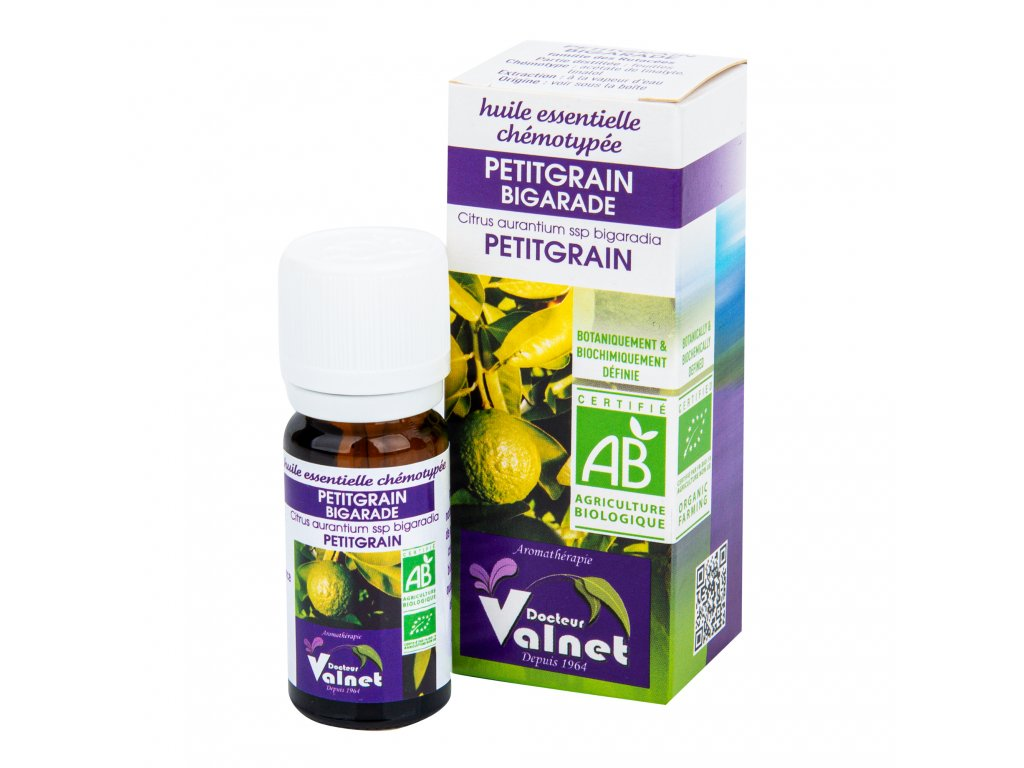 Éterický olej petitgrain (hořký pomeranč) 10 ml BIO DOCTEUR VALNET