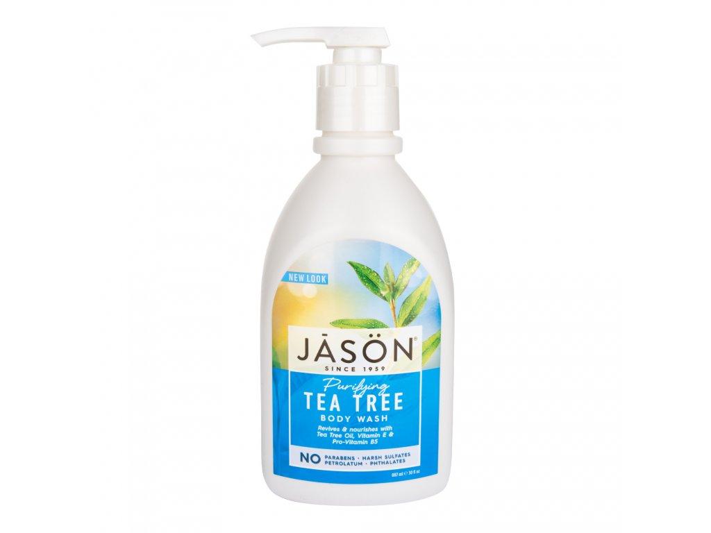 Gel sprchový tea tree 887 ml JASON
