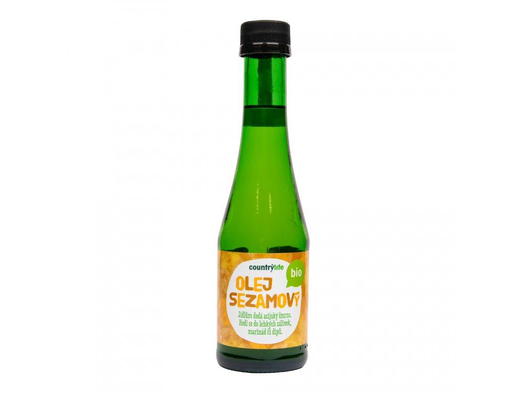 Olej sezamový 200ml BIO COUNTRYLIFE