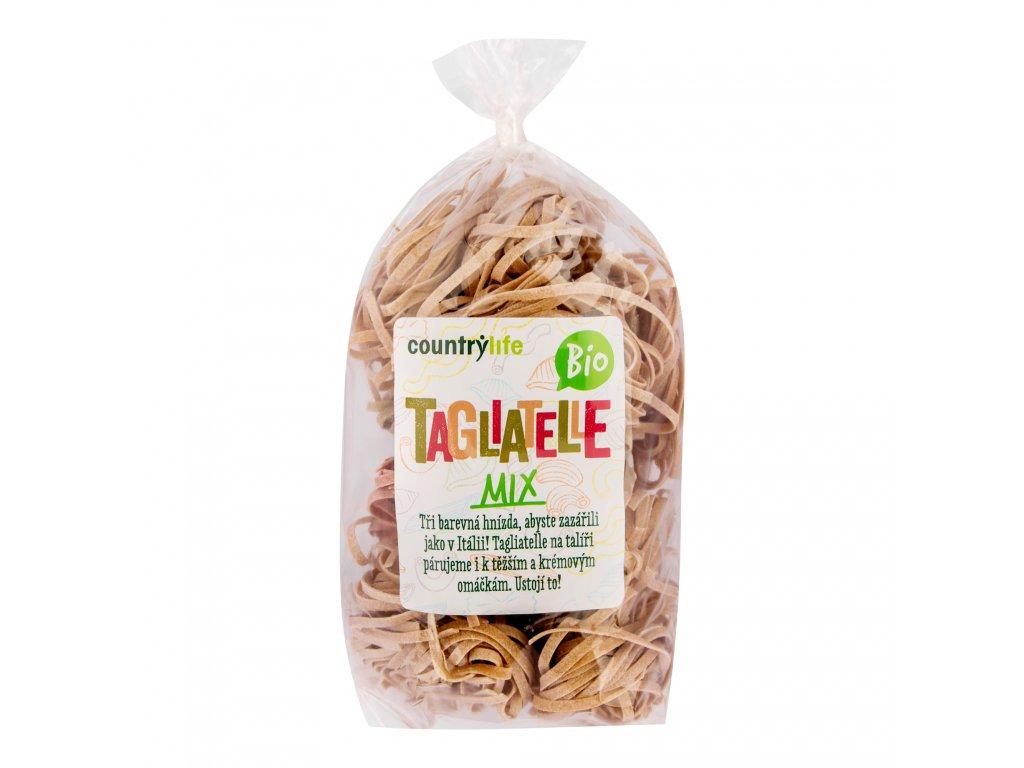 Těstoviny tagliatelle mix 400g BIO COUNTRYLIFE