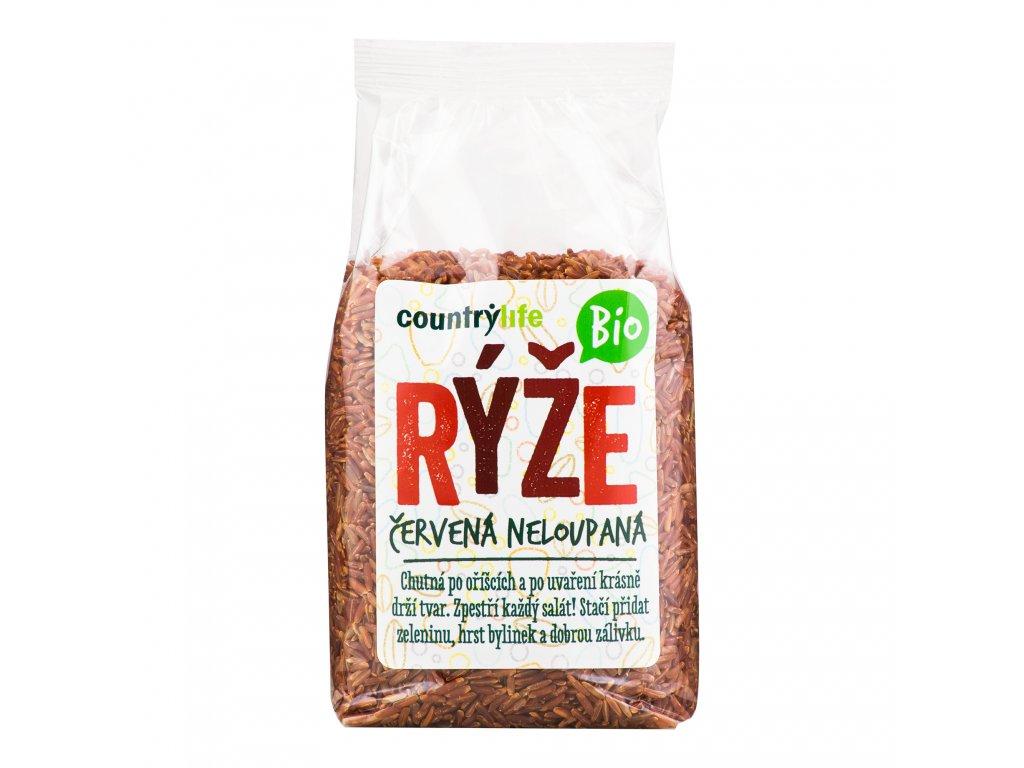 Rýže červená neloupaná 500g BIO COUNTRYLIFE