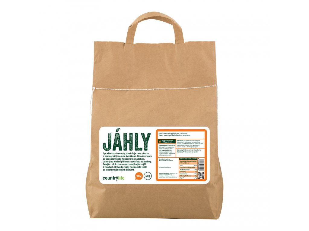 Jáhly 5kg COUNTRYLIFE