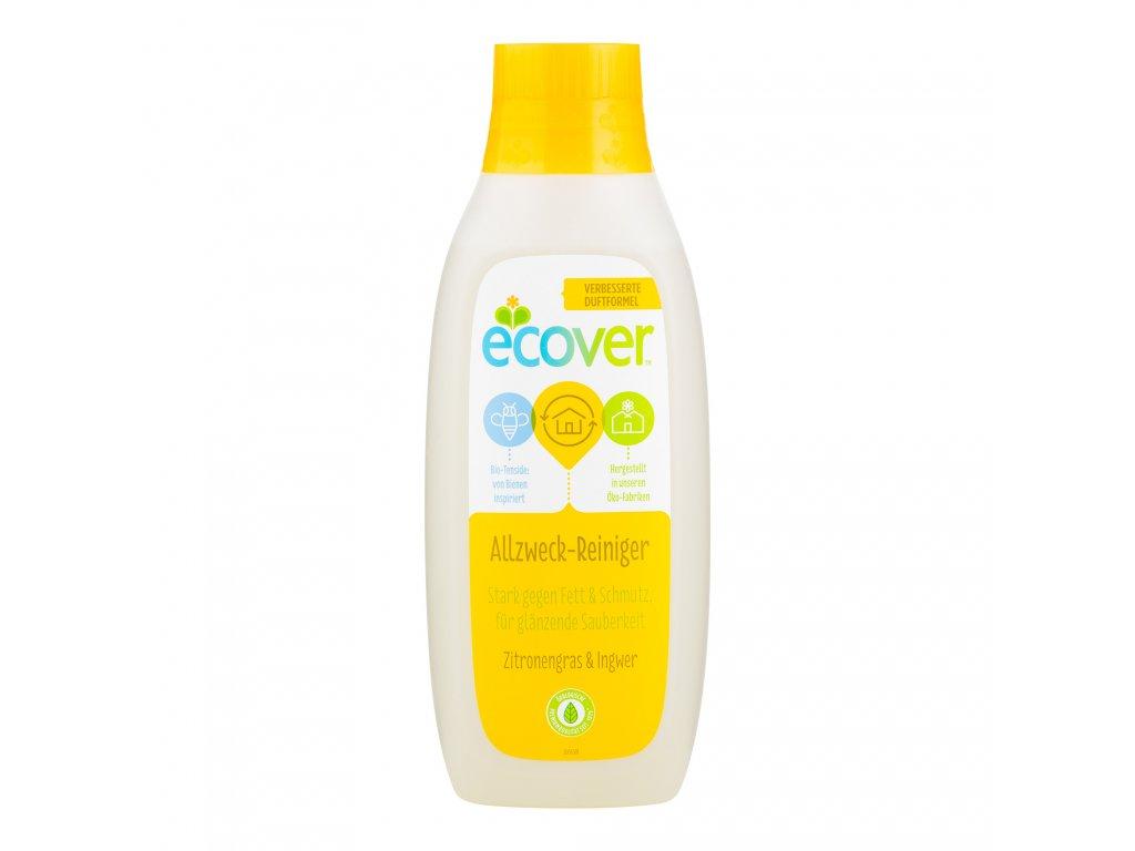 ECOVER univerzální čistič Citronová tráva a zázvor 750 ml
