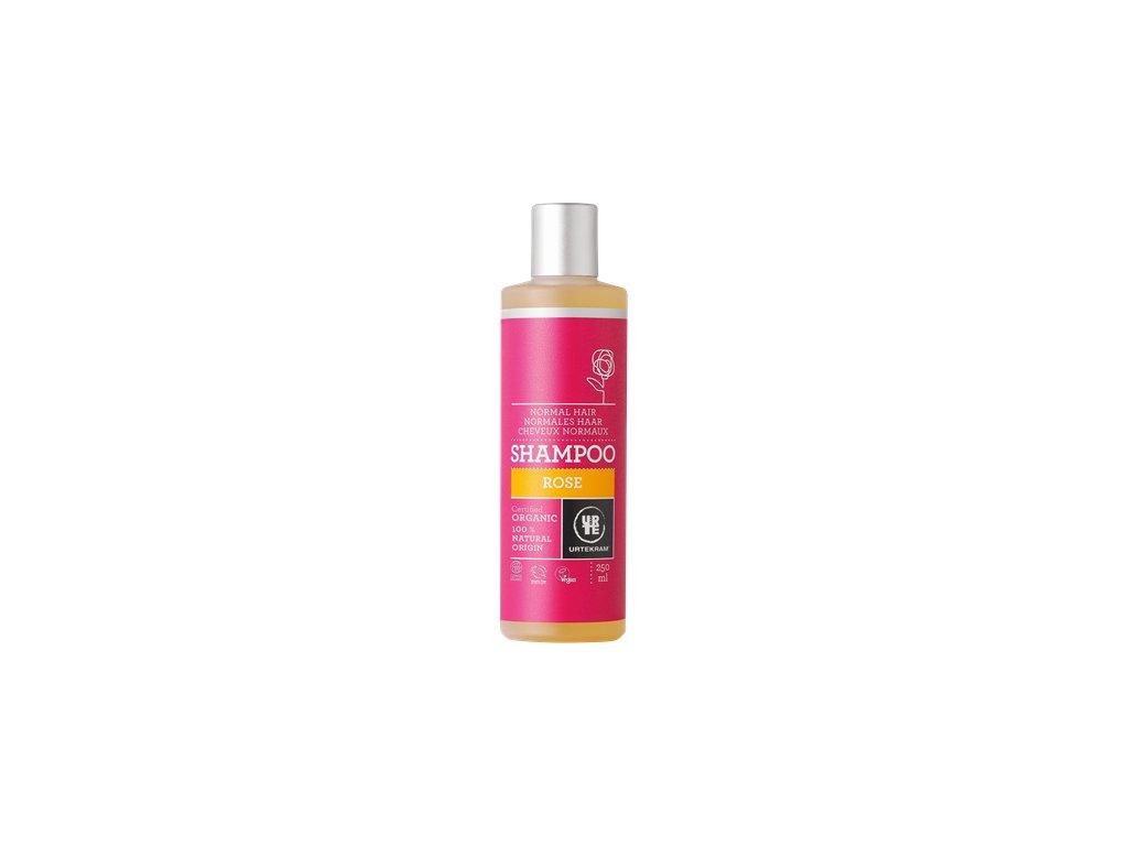 Urtekram - BIO Šampon růžový na normální vlasy 250 ml