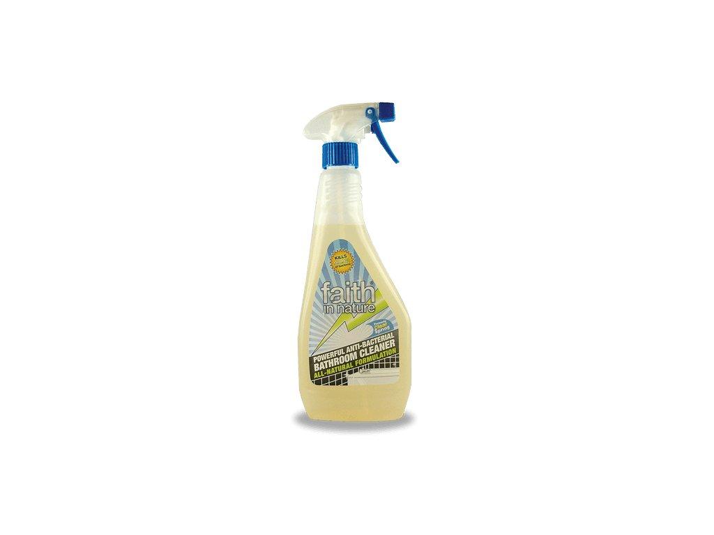 Faith in Nature - Přírodní antibakteriální koupelnový čistič ve spreji HA 500 ml