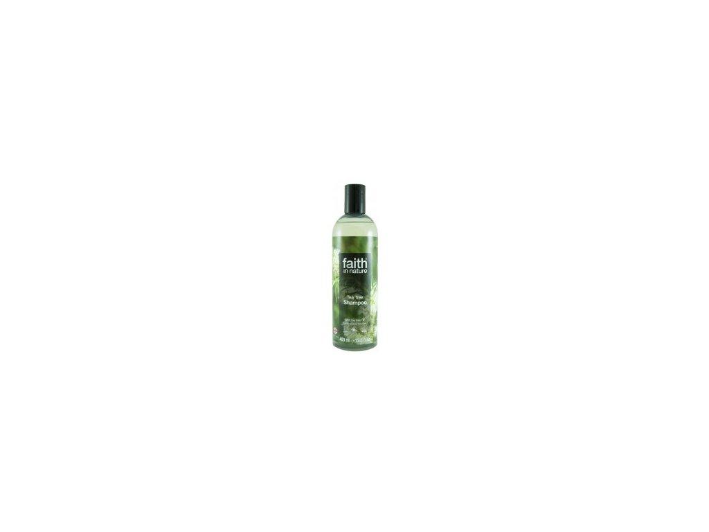 Faith in Nature přírodní Tea Tree šampon (s 2% oleje) 250 ml