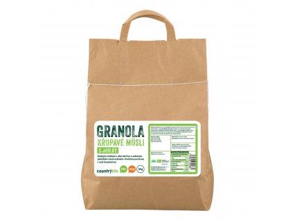 Granola - Křupavé müsli s jablky 5kg BIO COUNTRYLIFE