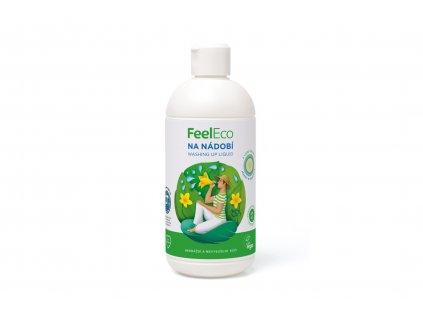 Prostředek na mytí nádobí - okurka - Feel Eco 500ml
