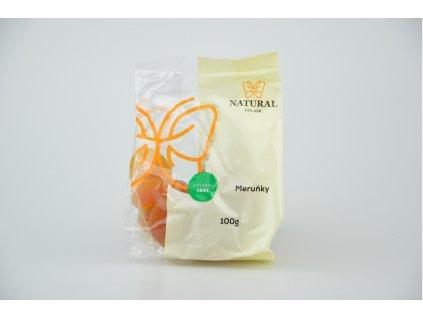Meruňky sušené - Natural 100g