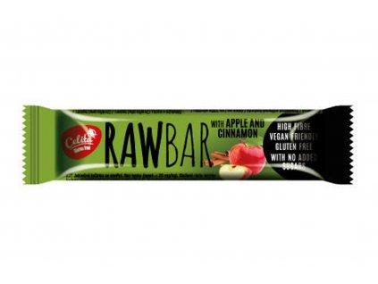Tyčinka RAWBAR s jablkem a skořicí bez lepku - Celita 40g Akce