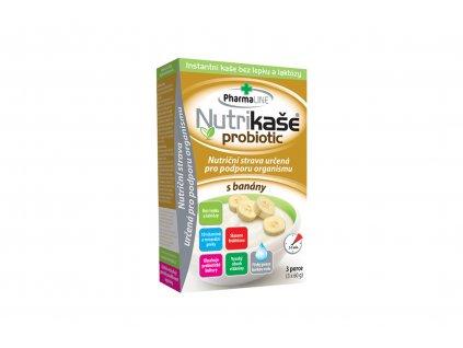 Nutrikaše probiotic s banány - Mogador 3x60g