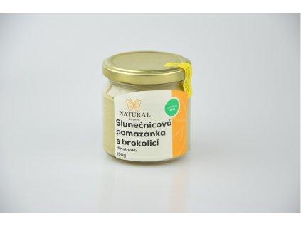 Slunečnicová pomazánka s brokolicí - Natural 190g